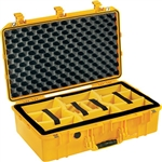 1555Air Case Yellow With Dividers