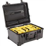 Pelican 1560 Laptop Overnight Case With Padded Dividers