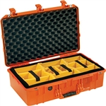 1555Air Case Orange With Dividers
