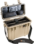 Pelican Protector 1430 Top Loader Case With Office Divider