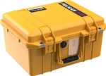 1507AIR CASE YELLOW WITH PADDED DIVIDERS