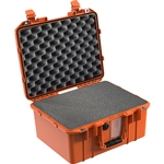 1507 AIR CASE WITH FOAM ORANGE