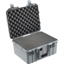 1507 AIR CASE WITH FOAM SILVER