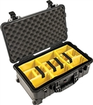 Pelican Protector 1510 Carry On Case With Dividers