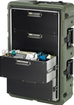 472-MEDCHEST3-4D-182 MEDCHEST 4 DRAWER  OLIVE DRAB,FIRE RETARDANT